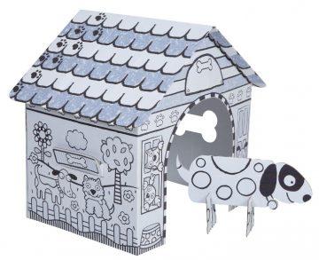 Color A Dog House