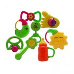 enfant colorful rattles and baby toys