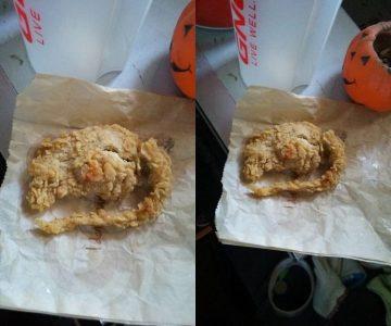 kfc fried rat